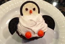 pinguin cup cake