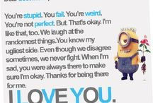 Cute friend notes
