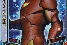 Marvel Hero Attax / Trading Cards for Marvel Heroes.