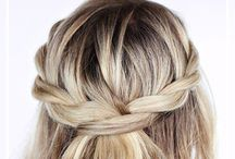 <<Hair Inspo>> / Hairstyle Inspo // Hairstyles + Balayage + Braids