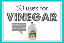 Vinegar and Backing Soda