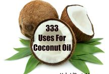Coconut Oil & many uses....