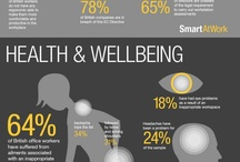 Business infographics of note! / Infographics on topics such as health and safety and productivity. / by Crystal Ball GPS Tracking