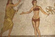 Mosaikker / Historie
