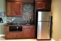 kitchenette/basement
