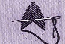 puntos de bordado