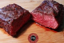 Dry Aged Beef - Dry Aged Flat Iron Steak / Our incredibly tender dry aged flat iron steak.