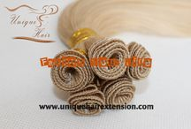 Hand Tied Hair Weft / finest quality 100% pure human hair,Manufacturer by Qingdao Unique Hair Products Co.,Ltd. 100% hair tied, various color and materials you can choose,European hair,Russian hair,Brazilian hair,etc,welcome to visit our website www.uniquehairextension.com or our blog www.uniquewig.blogspot.com or email us sales@uniquehairextension.com or uniquehairextension@gmail.com for more information !