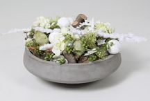 Decoratie schalen en potten / Schalen, poten en vazen met decoraties.