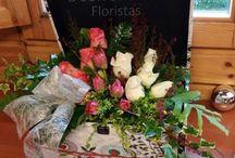 Regalando flores / Arreglos florales con delicadeza y encanto para regalar en una ocasión especial.
