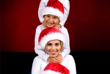 Семейные рождественские фото