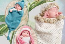 Crochet - Baby Blankets and Bunttings / by tammy herman