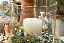 Wedding photo table:)