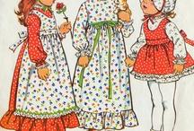 Kids Vintage patterns