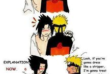 Naruto and friends / Anime stuff