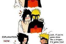 Naruto and friends / Anime stuff