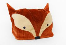 Fox: cosmetic bags and purses / Fox: cosmetic bags and purses