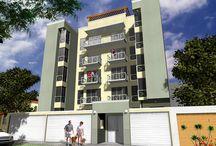 Edificio Las Palmeras / Exclusivo edificio de sólo 05 pisos con departamentos de 02 dormitorios. Ubicación: Av. Las Palmeras 120, Lince. Fecha de entrega: Octubre del 2006