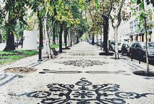Sidewalk Of Lisbon