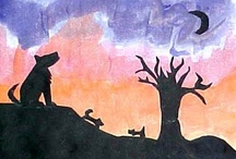 ArtEd- Silhouettes / by Donna Staten