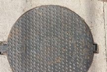 man holes / a collection of street covers whilst walling the streets and trolling the internet