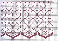 Cross-stitch: lace