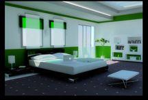 Outstanding Bedroom / Interior of Bedroom