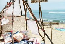 summer / summer, camping, great feelings, love, freedom, holiday, joy, sea, sun, sand, barefoot ♡