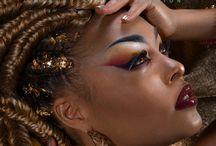★ Press Brigade Mondaine in DeVour Magazine ★ / Photographer: Delphine Ayache Model:Logia Robert MUA: Lora Von Gore Hairstylist: Murielle Hairstyle Coiffure Stylism: Amany Behounna & Nathaly Maisons