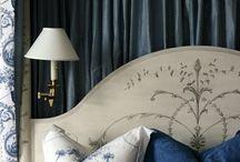 Blue / La couleur bleue à travers la décoration intérieure, la mode, l'architecture.