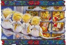 Kerstmantekeningen