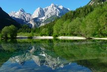 Triglav National Park / The Triglav National Park (TNP) is the only Slovenian national park. The park was named after Triglav, the highest mountain in the heart of the park, which is also the highest summit in Slovenia - 2864 m.