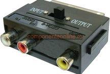 Conectori / Conectori MTA-156, CE156, MTA-100, CE100, DIN 41612, DUBOX, FFC, FPC, HE14, IDC, KK, Micro-MaTch, Mini-Clamp, PicoFlex, D-Sub, USB, IEEE1394, RJ, Centronics, V35, BMC, UHF, TNC, N, FME, SMA, SMB, SMC, F, RF, Sabre, Conectori AC, Conectori DC, XLR, mini XLR, Jack, RCA, DIN, mini DIN, Euro, HDMI, DVI, conectori AV