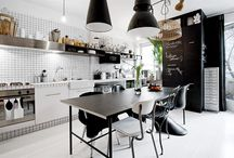 Kitchen Ideas / The kitchen is the most important place at home. It must be cozy and have a lovable atmosphere.