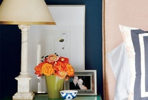 Master bedroom decorative ideas  / by Katie Bicknell