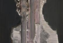 paintings / works - paintings - polyurethane, acrylic, oil, wax