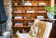εσωτερικοί χώροι από ξύλο - wooden interiors