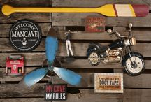 Man Cave / by Trees n Trends - Home, Fashion & MORE!