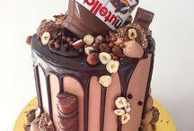 torta s čokoládkami