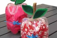 Plastic bottle crafts / This page has a lot of free Plastic bottle crafts for kids,parents and preschool teacher