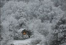 # love winter # / cabin