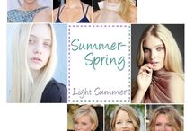 Light Summer (Cool Undertones) / You are a Summer woman who is flowing into Spring. It means you have delicate and cool colors on your face. Your dominant colors are soft, light and muted. This creates a very light, cool and elegant coloring. http://www.30somethingurbangirl.com/p/free-quiz-what-is-your-seasonal-color.html