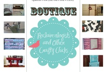 Boutique Photos  / Photos and other boutique items that we host or participate in.  / by Reclaim-ologists and Other Crafty Chicks