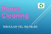 Wrocław. tel. 504-746-203. Cleaning services to make your home or apartment look its very best.