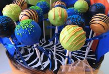 Cake Pop Love / I LOVE making cake pops for my friends and family!! I also make them as a hobby and sell them. Please visit my Facebook page at :  https://www.facebook.com/pages/Nik-Naks/326773924016991   / by Nikki G.