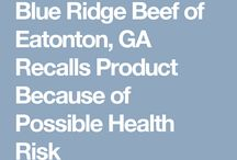Recalls / Pet food and drug recalls