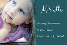 Nombres de bebita
