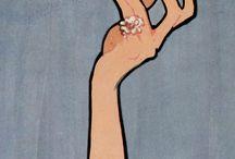 René Gruau, Robert Best / Illustrations haute couture '50s