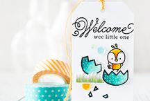 Craft ~ Baby / All things baby ~ cards, packaging, tags, wrapping and gifts