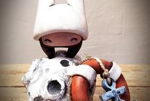 """Await Rescue - Moon Ship"" Figurine (2015)"
